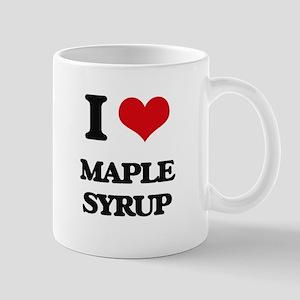 I Love Maple Syrup Mugs