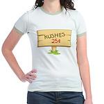Kushes - Kisses Jr. Ringer T-Shirt