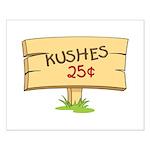 Kushes - Kisses Small Poster