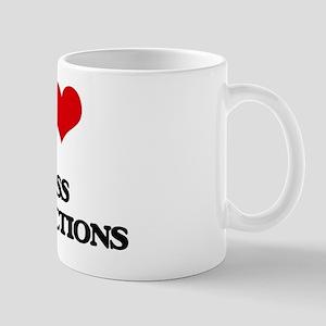 I Love Mass Productions Mug