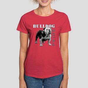 Bulldog Pride Women's Dark T-Shirt