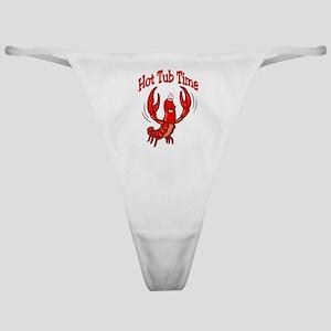 Crawfish Hot Tub Time Classic Thong