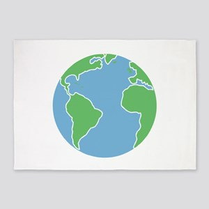 Globe 5'x7'Area Rug