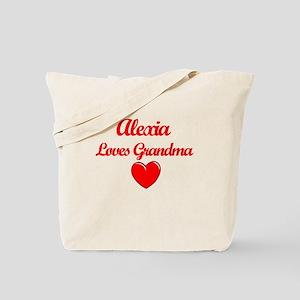 Alexia Loves Grandma Tote Bag