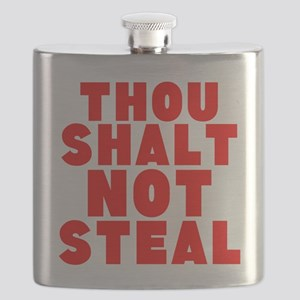 Thou Shalt Not Steal Flask