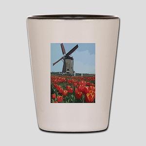 Wind Mill Shot Glass