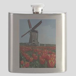 Wind Mill Flask