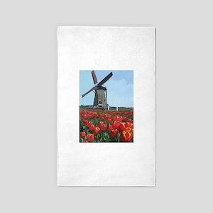 Wind Mill Area Rug