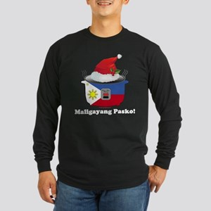Pinoy Rice Cooker - Pasko Long Sleeve T-Shirt