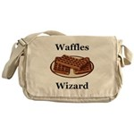 Waffles Wizard Messenger Bag