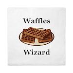 Waffles Wizard Queen Duvet