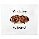 Waffles Wizard King Duvet