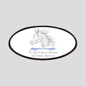 ARABIAN HORSE PROVERB Patches