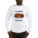 Waffles Hunter Long Sleeve T-Shirt