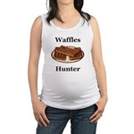 Waffles Hunter Maternity Tank Top