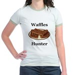 Waffles Hunter Jr. Ringer T-Shirt