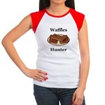 Waffles Hunter Women's Cap Sleeve T-Shirt