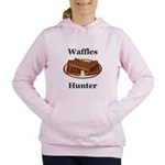 Waffles Hunter Women's Hooded Sweatshirt