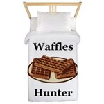 Waffles Hunter Twin Duvet