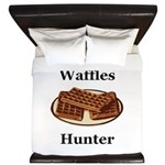 Waffles Hunter King Duvet