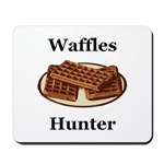 Waffles Hunter Mousepad
