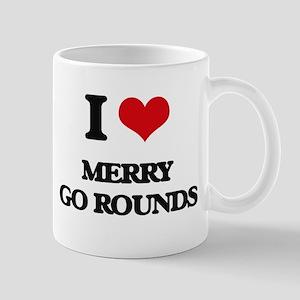 I Love Merry Go Rounds Mugs