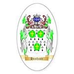 Heathcote Sticker (Oval 50 pk)