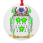 Heathcock Round Ornament