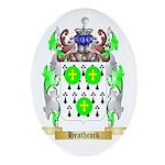 Heathcock Ornament (Oval)