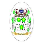 Heathcoat Sticker (Oval)