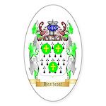 Heathcoat Sticker (Oval 10 pk)