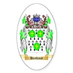 Heathcoat Sticker (Oval 50 pk)
