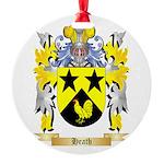 Heath Round Ornament
