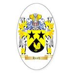 Heath Sticker (Oval 50 pk)