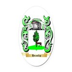 Heaslip Oval Car Magnet