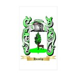 Heaslip Sticker (Rectangle 10 pk)