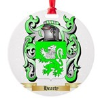 Hearty Round Ornament