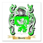 Hearty Square Car Magnet 3