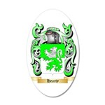 Hearty 35x21 Oval Wall Decal
