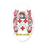 Hearst Oval Car Magnet