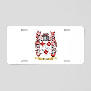 Hearst Aluminum License Plate