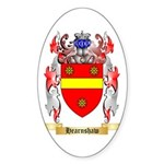 Hearnshaw Sticker (Oval 10 pk)