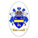 Heardman Sticker (Oval 50 pk)