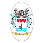 Heard Sticker (Oval 10 pk)