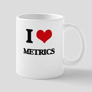 I Love Metrics Mugs
