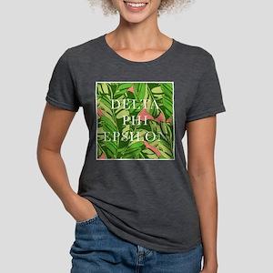 Delta Phi Epsilon Banana Womens Tri-blend T-Shirt