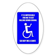 Party-capped Sticker