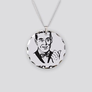This Guy Necklace Circle Charm
