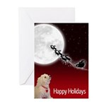 Bichon Holiday Greeting Cards (pk Of 10)