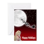 Bichon Holiday Greeting Cards (pk Of 10)